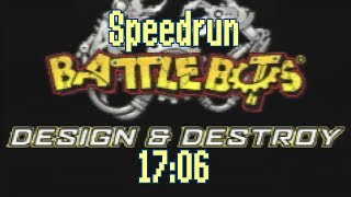 [Speedrun] BattleBots: Design & Destroy (GBA) in 17:06