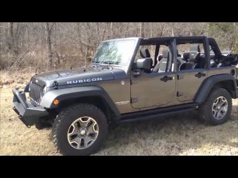 Topless Factory Half Door 2014 Jeep Wrangler Jk Unlimited