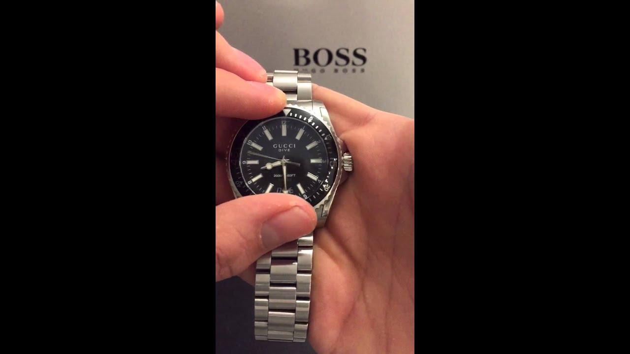 Gucci dive watch (german) - YouTube f67b1a8a6c