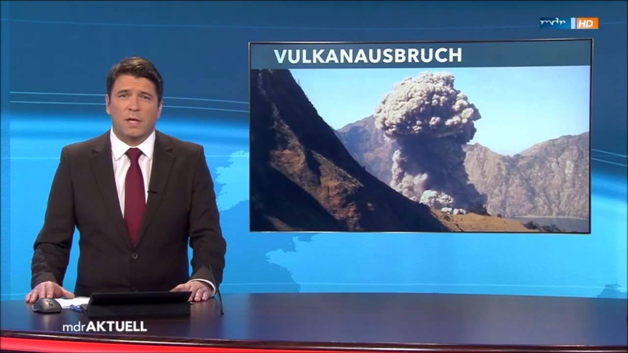 Vulkanausbruch Auf Bali   Vulcano Eruption Bali