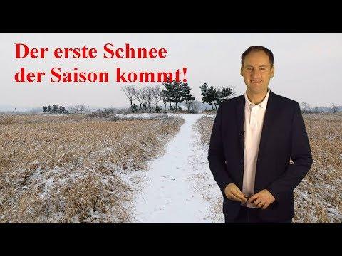 Regional heftiger Wintereinbruch in Sicht, danach wieder deutlich wärmer! (Mod.: Dominik Jung)
