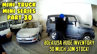 JDM Buyers info walk-through inventory mini-trucks vans Turbo supercharger Jimny Delica (Part 30)