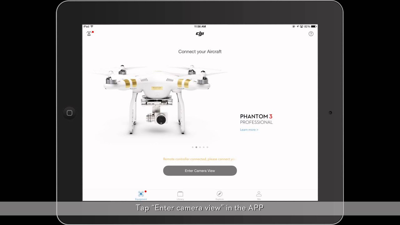 dji phantom 3 - linking the remote controller and the aircraft