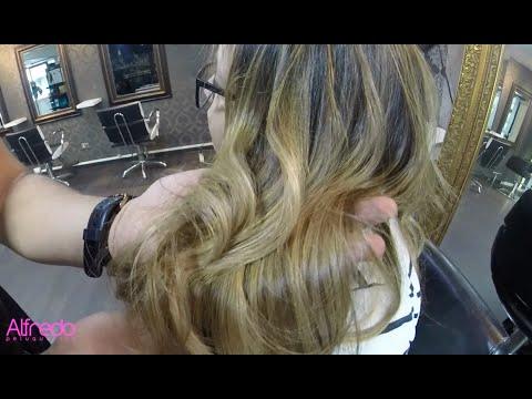 Alfredo Peluquerias , Balayage cabello largo