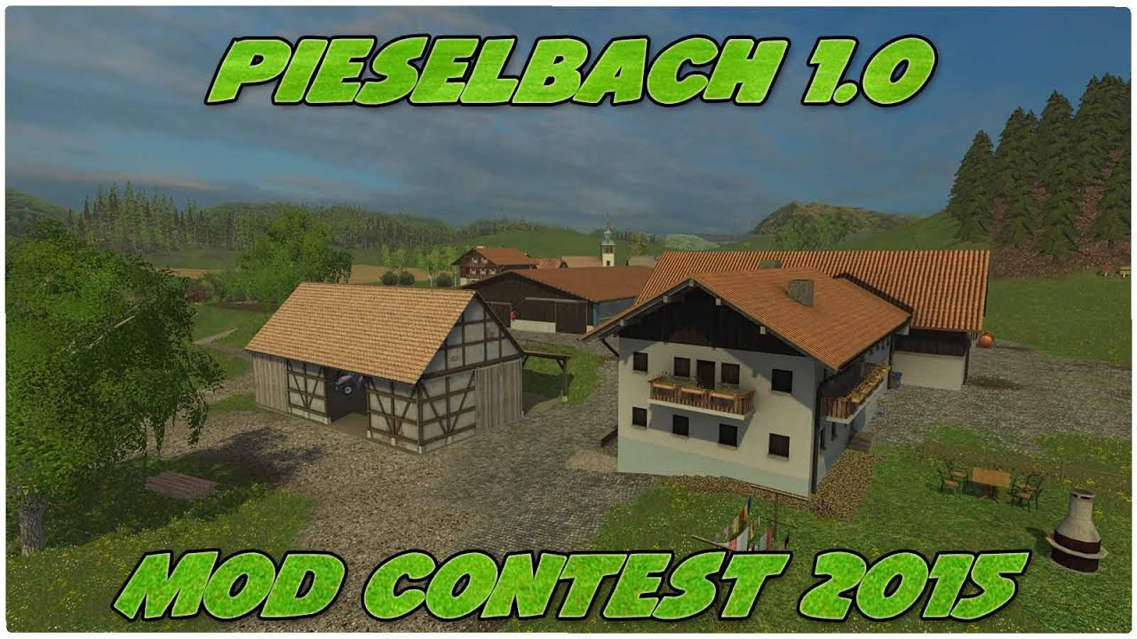 Contest Pieselbach YouTube - Southern norway map ls15