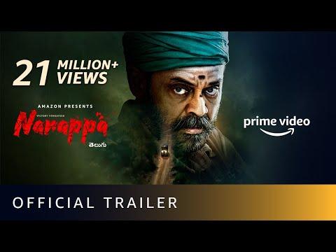 Narappa - Official Trailer | Venkatesh, Priyamani, Rao Ramesh, Nassar | Amazon Prime Video