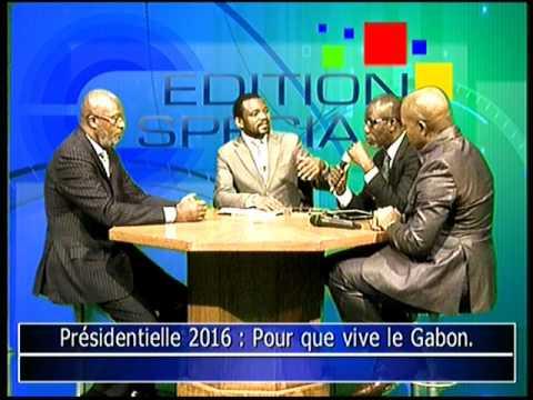 Gabon Paul-Marie Gondjout à édition spéciale TéléAfrica 13 05 12