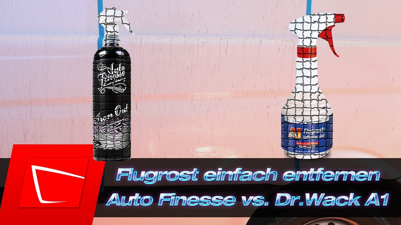 flugrost entfernen auto finesse iron out vs dr wack a1 flugrostentferner gel test inkl d. Black Bedroom Furniture Sets. Home Design Ideas