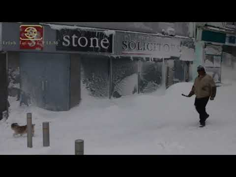 Storm Emma Wexford Snow 2nd March 2018