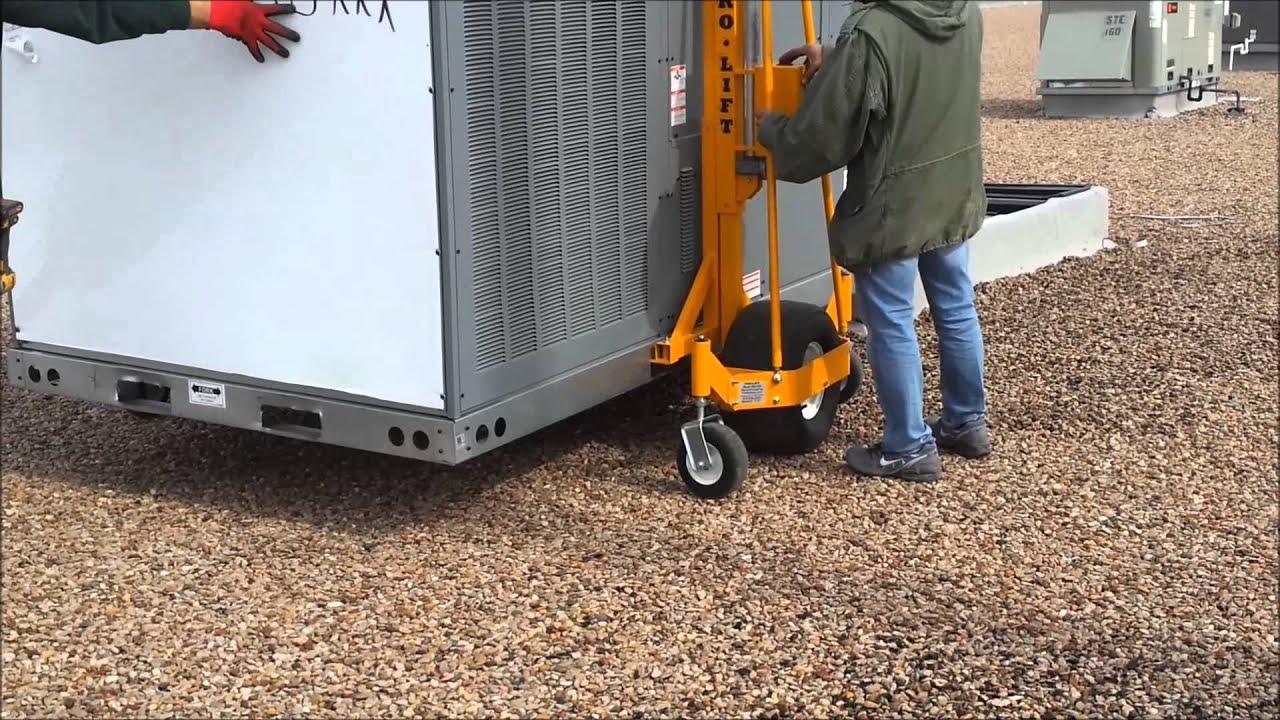Portable Hvac Lifts : Pro lift hvac cart youtube