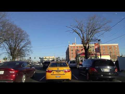 Driving from Valley Stream to Hawlett in Nassau,New York