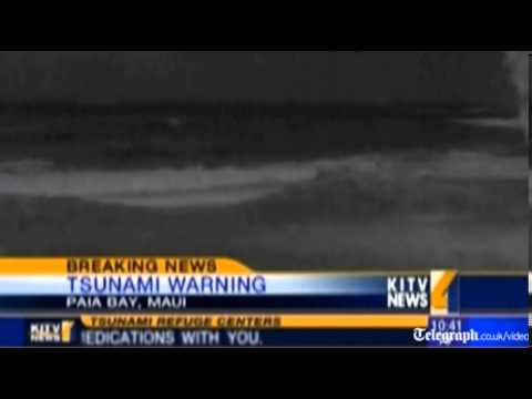 Tsunami warning in Hawaii forces evacuations