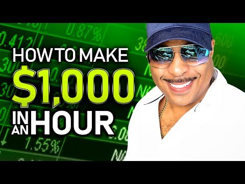 How to Make $1,000 an Hour Trading the Market