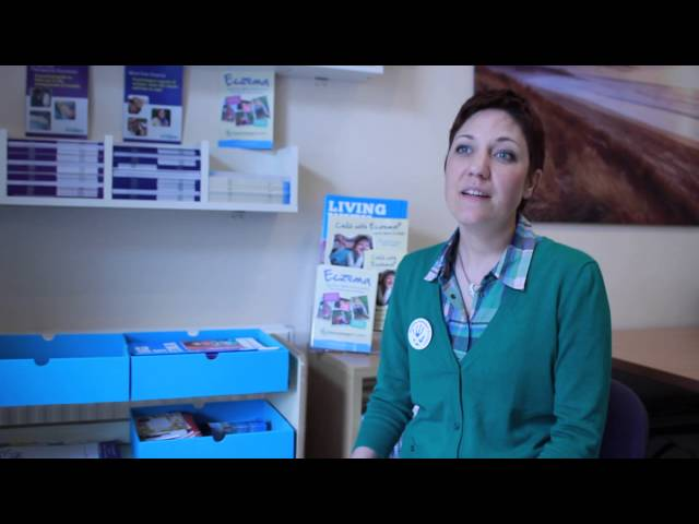 Eczema Outreach Scotland CEO, Magali