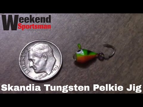K & E Tackle Skandia Tungsten Pelkie Jig Fishing Lure | Week