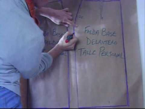 Lesson 13 - How to Make a Basic Skirt and a Pencil Skirt Pattern ...