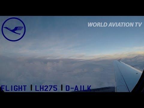 Lufthansa A319 Milan Linate - Frankfurt Flight [HD]