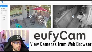 How to view Eขfy Security Cameras From Computer Browser