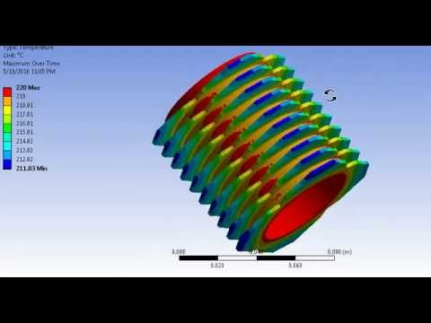 engine air cooling system through fins youtube