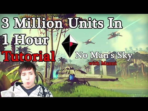 3 Million Units in 1 Hour - No Man's Sky Farming Tutorial