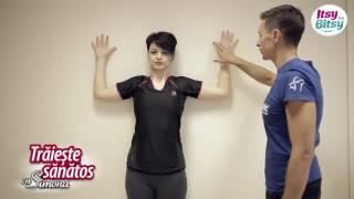 Itsy Bitsy - 8 exercitii pentru a corecta spondiloza cervicala - Alin Burileanu
