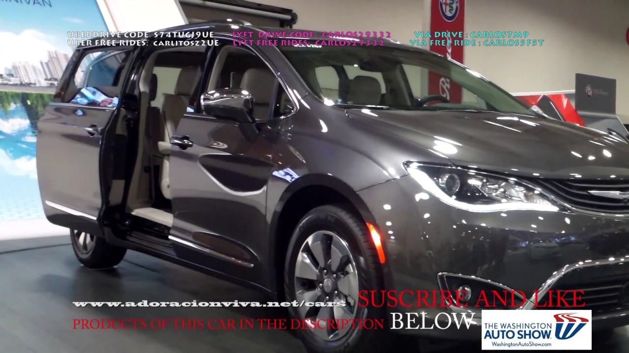 2019 Chrysler Pacifica Minivan Washington Dc Auto Show 2018 Youtube