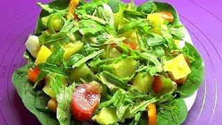 Рецепт салата. Вкусный сытный и простой весенний салат