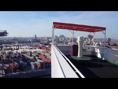 """Container Ship """"Value"""" #EntradaAMontevideo Parte 3"""