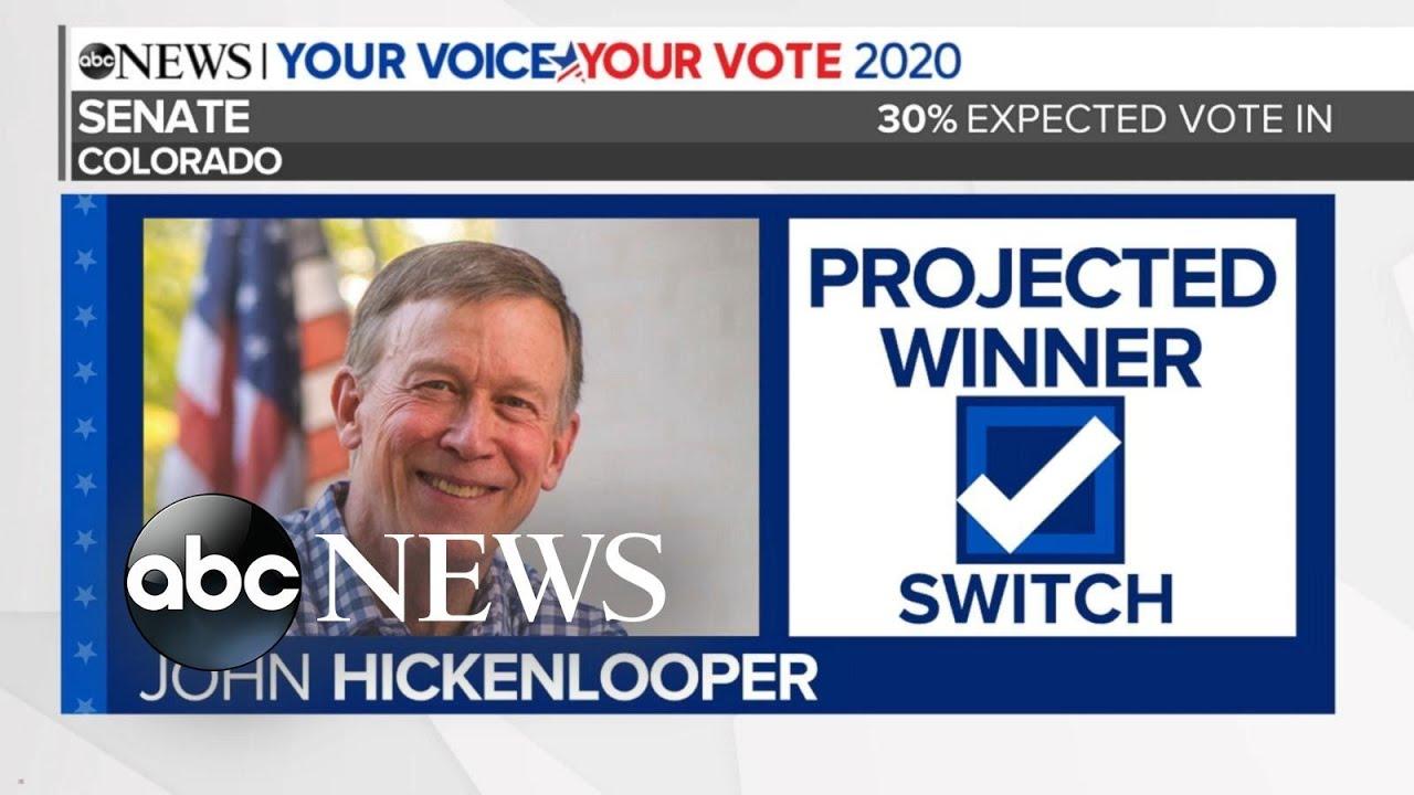 Download John Hickenlooper projected to win Colorado Senate race