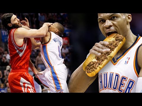 RUSSELL WESTBROOK KNOCKS OUT A MAN!! Kevin Durant is NEXT!