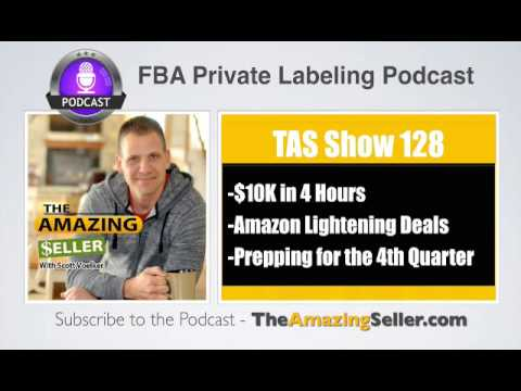TAS 128 : Amazon Lightning Deal Sold 490 Units And Produced $10K In 4 Hours