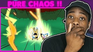 TOO MUCH DESTRUCTION!! | Baby Pokemon Battle Royale ANIMATED Reaction
