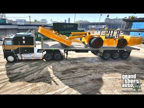 GTA 5 REAL LIFE MOD #336 CONSTRUCTION !!! (GTA 5 REAL LIFE MODS)