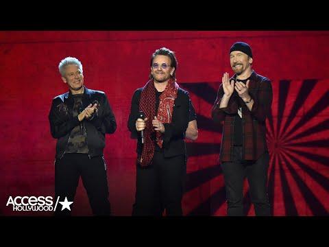 U2 Gives An Epic Speech At 2017 MTV EMA Awards