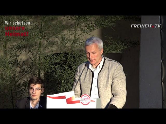 Landesversammlung 2017 - Die Rede von Bernhard Zimmerhofer