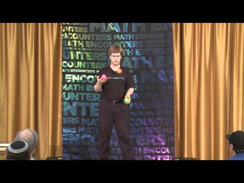 Math Encounters -- Five Balls, Two Hands: The Patterns of Juggling -- Colin Wright (Presentation)