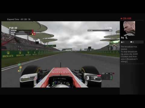 Formula 1 Season 1 China 100% race