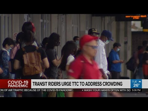 Transit riders urge TTC to address crowding
