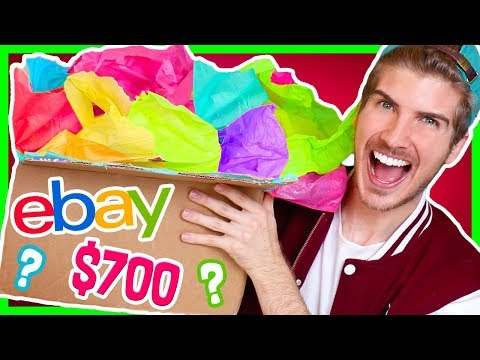 Thumbnail: UNBOXING $700 EPIC EBAY MYSTERY BOX! (90s Theme Boxes)