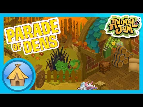 Autumn Themed Dens!  |  Animal Jam & Play Wild - Parade of Dens