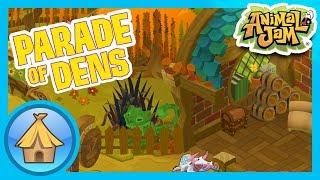 Autumn Themed Dens!  |  Animal Jam & Play Wild - Parade of Dens