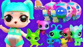 #ЛПС! ГОСТИ КУКЛЫ ЛОЛ ИЗ КОСМОСА! LPS - Cosmic Littlest Pet Shop Blind Bags - Игрушки для Детей