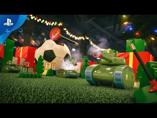 World of Tanks - Special Toy Tanks Mode Trailer   PS4