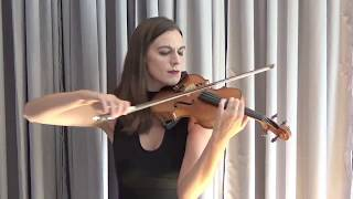 Violin cover - Kiss from a Rose (Seal) by Marie Elisa