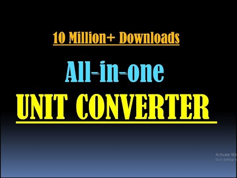 Unit Converter- Unit Converter App- Unit Conversion- Best Unit Converter App- Unit Convertor