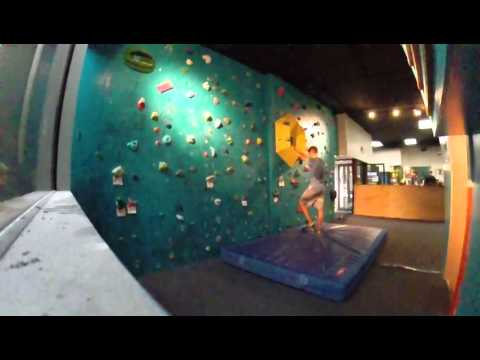 Crimpy V3 at Volcanic Climbing and Fitness in Honolulu
