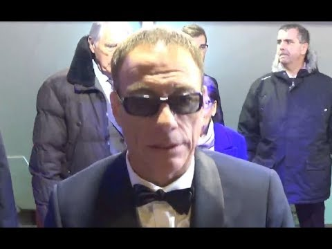 Jean Claude Van Damme @ Paris 12 december 2017 premiere Van Johnson / décembre