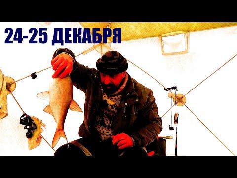 Зимняя Рыбалка с Ночевкой. Отличный клев - Новогодний Подарок от Водяного!!! Всех с Новым Годом!!!