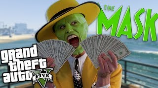 GTA 5 Mods - THE MASK MOD (GTA 5 PC Mods Gameplay)