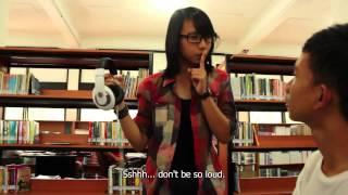 """In der Bibliothek"" [Film Pendek Bahasa Jerman]"